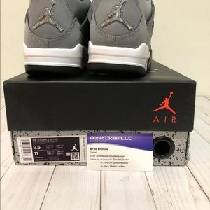 Nike Shoes - 2019 Nike AIR JORDAN RETRO 4 COOL GREY 308497-007